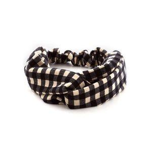 Checkered Headband, Like New